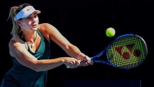 Українка Костюк розтрощила суперницю у першому колі тенісного турніру у США