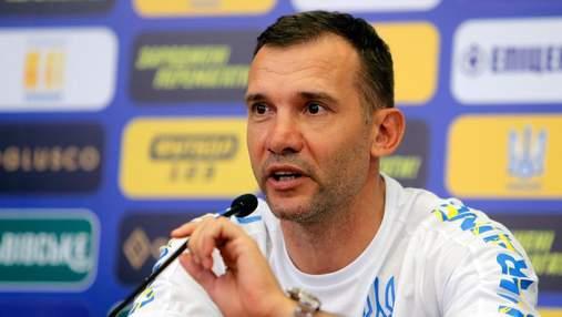 Это потрясающе, – Шевченко назвал самый яркий момент за время работы в сборной Украины