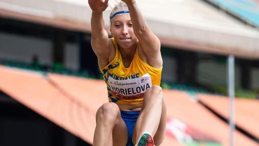 Украинка Горелова завоевала вторую награду на чемпионате мира по легкой атлетике
