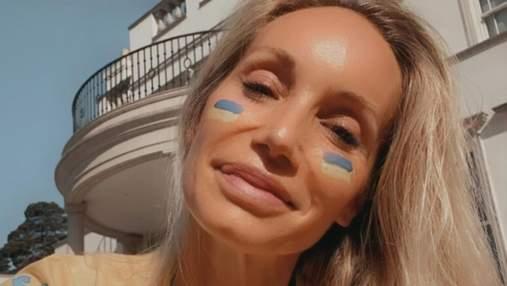 Жена Андрея Шевченко оконфузилась с Днем Независимости Украины: фото