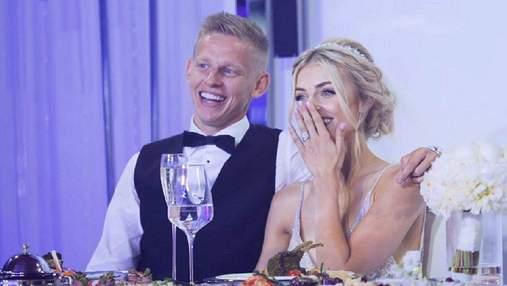 Зінченко зворушливо привітав Владу Седан з річницею весілля: фото