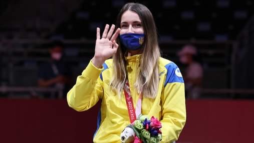 """Федота взяла третє """"срібло"""" України на Паралімпіаді з фехтування"""