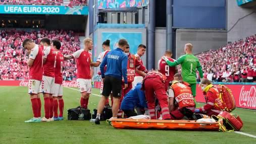 Медики, які врятували Крістіана Еріксена під час матчу Євро-2020, отримали нагороду від УЄФА