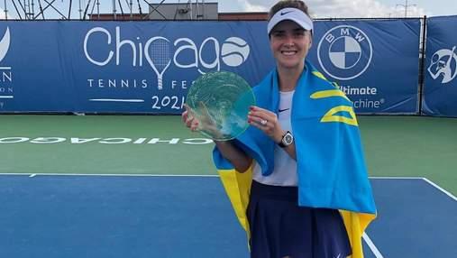 Світоліна у валідольному фіналі з Корне взяла трофей турніру у Чикаго