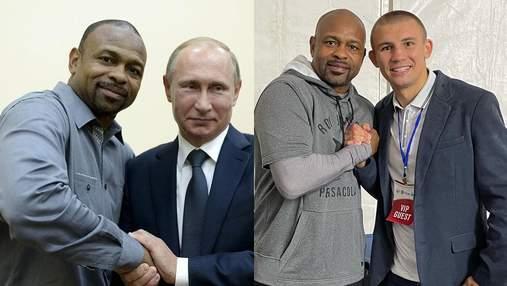 """Украинский боксер Хижняк """"засветился"""" с другом Путина, что планировал бизнес в Крыму"""