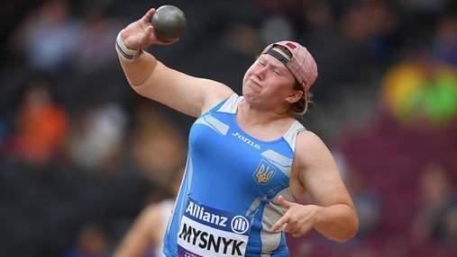 """Снова """"серебро"""": Мисник с рекордом Европы стала второй на Паралимпиаде в толкании ядра"""