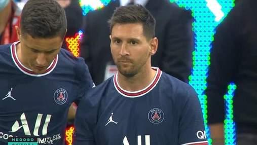 Исторический момент: Месси дебютировал за ПСЖ в чемпионате Франции