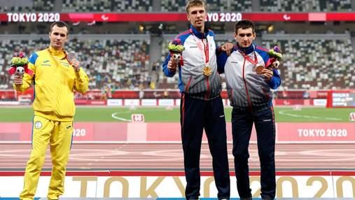 С Украиной в сердце, – призер Цветов объяснил отказ от фото с россиянами на Паралимпиаде