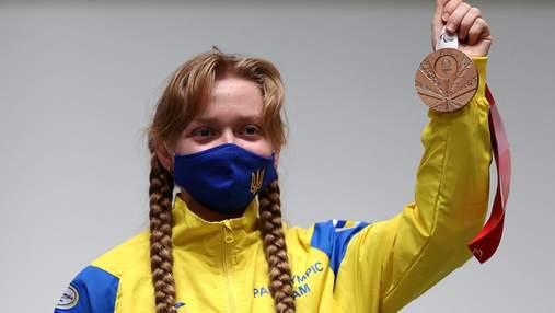"""Украинка Щетник стала третьей на Паралимпиаде: это ее вторая """"бронза"""" в Токио"""