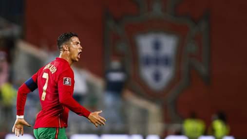 Роналду получил наказание за празднование рекордного гола и не сыграет против Азербайджана