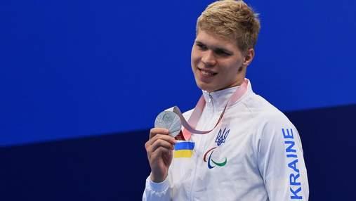"""Не хватило до """"золота"""" 0,05 секунды: пловец Трусов стал вторым на Паралимпиаде в Токио"""