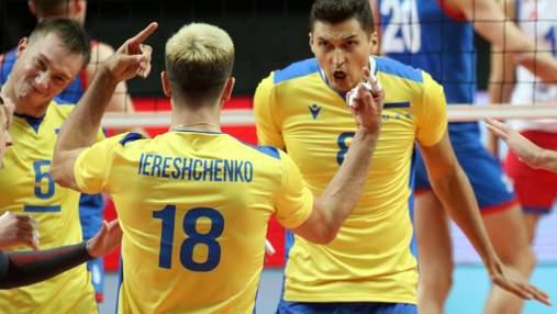 Збірна України з боєм програла другий матч Євро з волейболу чинним чемпіонам