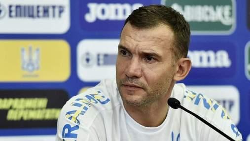 Не получил письмо: Шевченко рассказал, будет ли подавать в суд на УАФ и Павелко