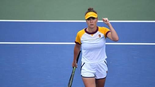 Уверенность и сила: как Свитолина уничтожила Халеп на пути в 1/4 US Open – видео