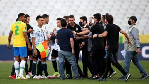 Матч Бразилия – Аргентина не будет возобновлен: Месси и команда уже покинули страну