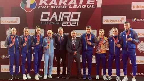 Разрыв от Украины: каратисты завоевали 8 медалей на Karate1 Premier League в Египте