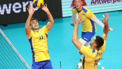 Україна достроково вийшла у плей-офф чоловічого Євро-2021 з волейболу