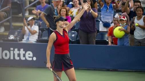 Залишила своє серце на корті, – Світоліна прокоментувала поразку у чвертьфіналі US Open