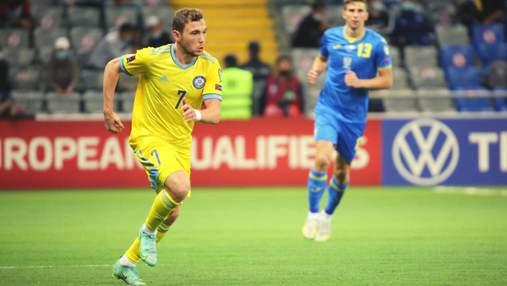 Валіуллін провалив допінг-тест: він забив два голи у ворота збірної України – ЗМІ