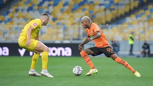 Шахтар впевнено обіграв Дніпро-1 та повернувся на друге місце в турнірній таблиці: відео