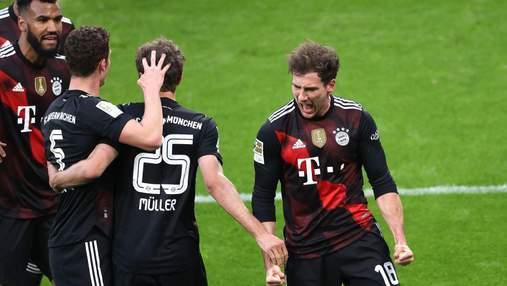 Баварія розгромила Лейпциг і піднялась на другу сходинку Бундесліги: відео