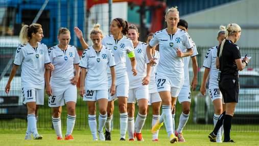 Футбольний клуб Житлобуд-1 вийшов до групової стадії жіночої Ліги чемпіонів