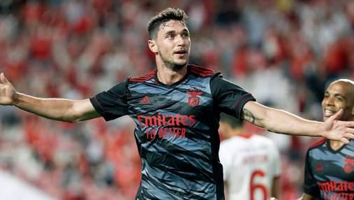 Яремчук забил за Бенфику через 5 минут после выхода на поле: видео