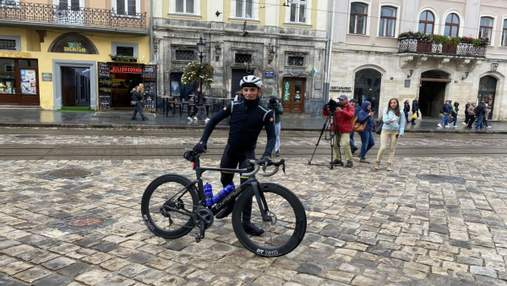Road To Ukraine: велосипедист преодолеет 2 500 километров, чтобы помочь детям