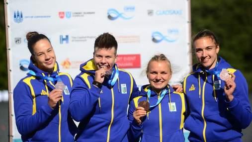 """Історичне """"золото"""" та нестримна Лузан: веслувальники з України розірвали чемпіонат світу у Данії"""