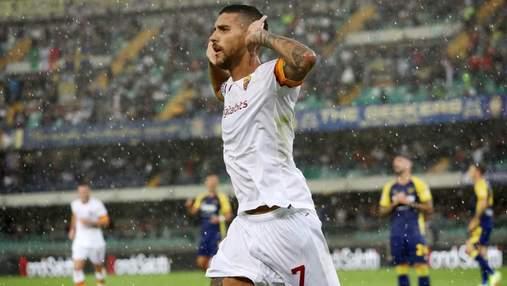 Пеллегрини забил красивый гол пяткой, который не спас Рому от сенсационного поражения: видео