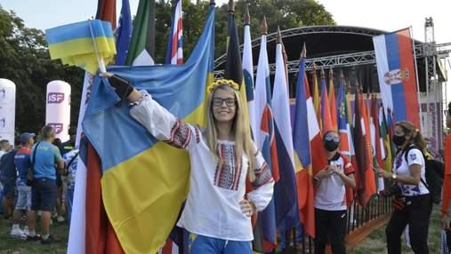 Учнівська збірна з України виборола перше місце на Всесвітніх спортивних іграх U-15