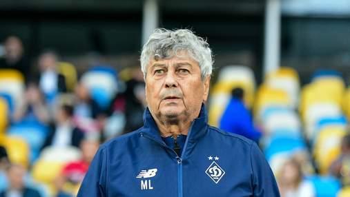 Луческу запретил футболистам Динамо после матча благодарить фанатов