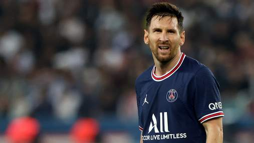Французькі ЗМІ назвали причину скандальної заміни Мессі в матчі ПСЖ