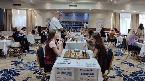 Украинский шахматный клуб продолжает отчаянную борьбу за Кубок Европы
