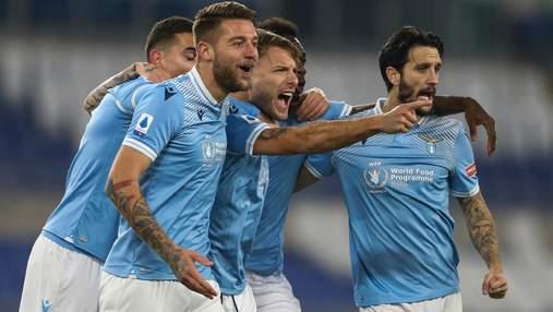 Рома була близькою до камбеку, але програла Лаціо у матчі з 5 голами