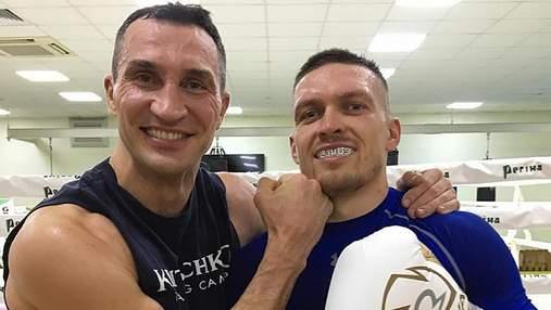 Мы с ним ужинали, – Усик рассказал, получил ли помощь от Кличко перед боем с Джошуа