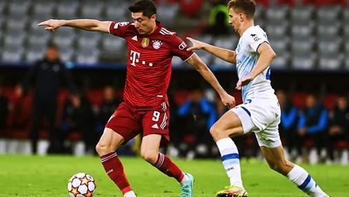 Динамо получило полный мешок голов от Баварии в Лиге чемпионов: видео