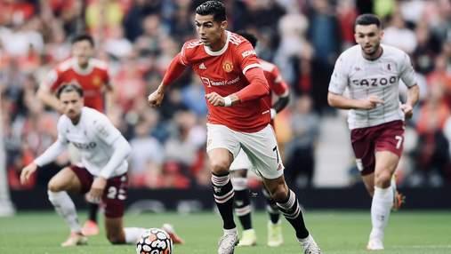 Манчестер Юнайтед бесславно проиграл Астон Вилле: Фернандеш не забил пенальти в конце матча