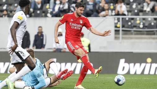 Яремчук оформив дубль у матчі за Бенфіку – один з голів майже з нульового кута: відео