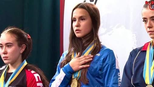 Українка в 15 років стала чемпіонкою світу з пауерліфтингу
