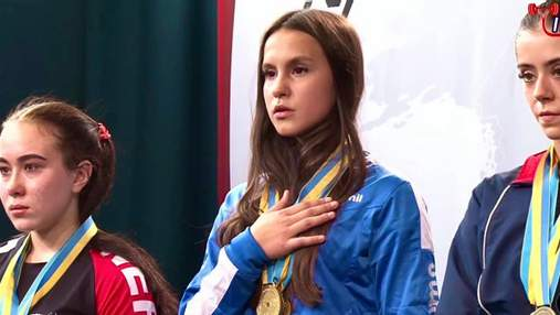 Украинка в 15 лет стала чемпионкой мира по пауэрлифтингу