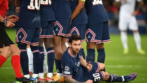 Поработал бревном: как Месси защищал стенку ПСЖ в Лиге чемпионов – фото