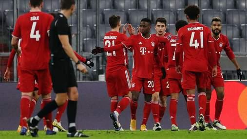 Бавария благодаря пенальти Левандовски вышла вперед в матче с Динамо: видео