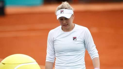 Украинка Козлова сенсационно победила лидера посева на турнире в Индиан-Уэллсе