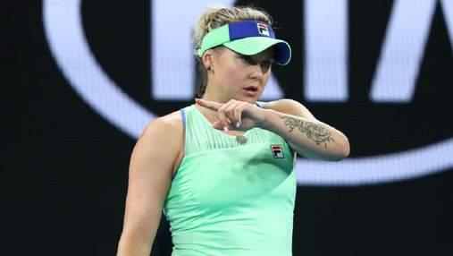 Две теннисистки из Украины покинули престижный турнир в США: Козлова проиграла россиянке