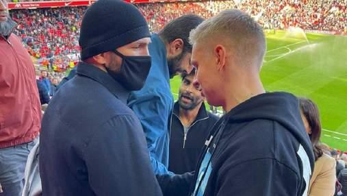 Агент Зинченко не понимает, почему украинцы критикуют футболиста за фото с россиянином Хабибом