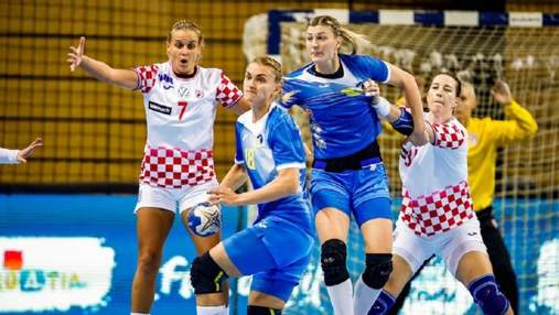 Збірна України сенсаційно здолала бронзових призерок чемпіонату Європи з гандболу