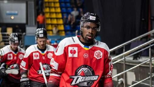 Хокеїст Смерек покинув Донбас після расистського скандалу