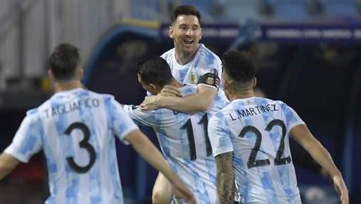 Не бил, а отдавал передачу: Месси забил курьезный чудо-гол за Аргентину – видео