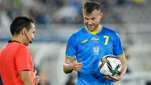 Ярмоленко впевнений, що збірна України переможе боснійців у другому матчі